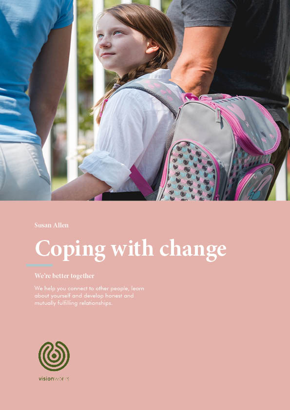 Front cover for Coping with change free download