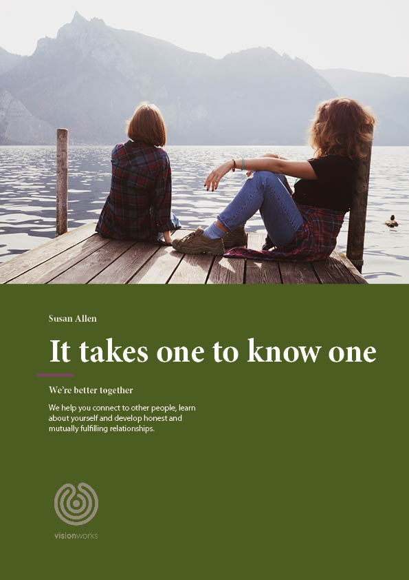 Front cover for free download called it takes one to know one