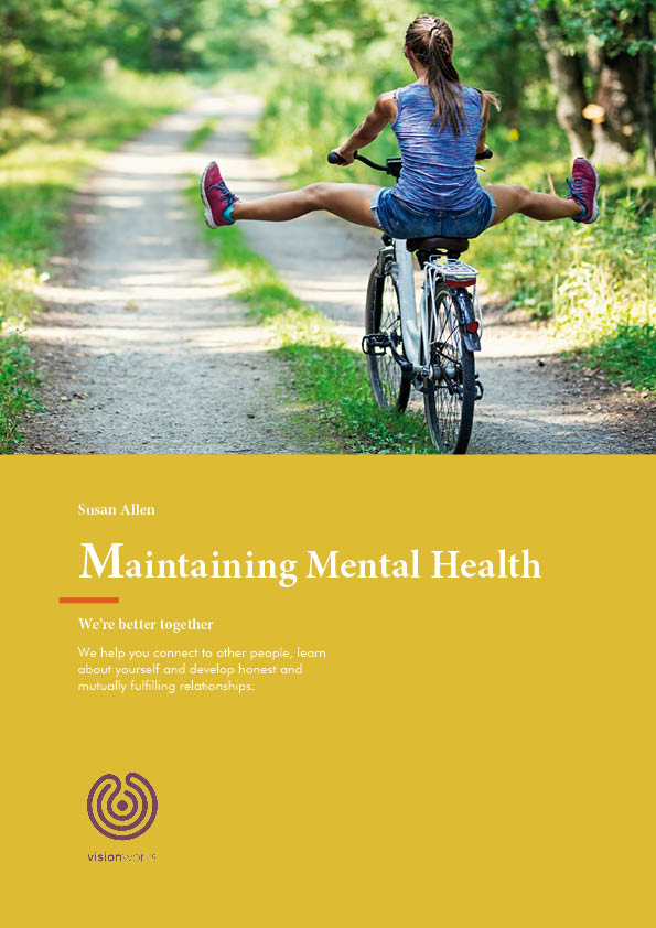 Cover page for free download - Maintaining Mental Health