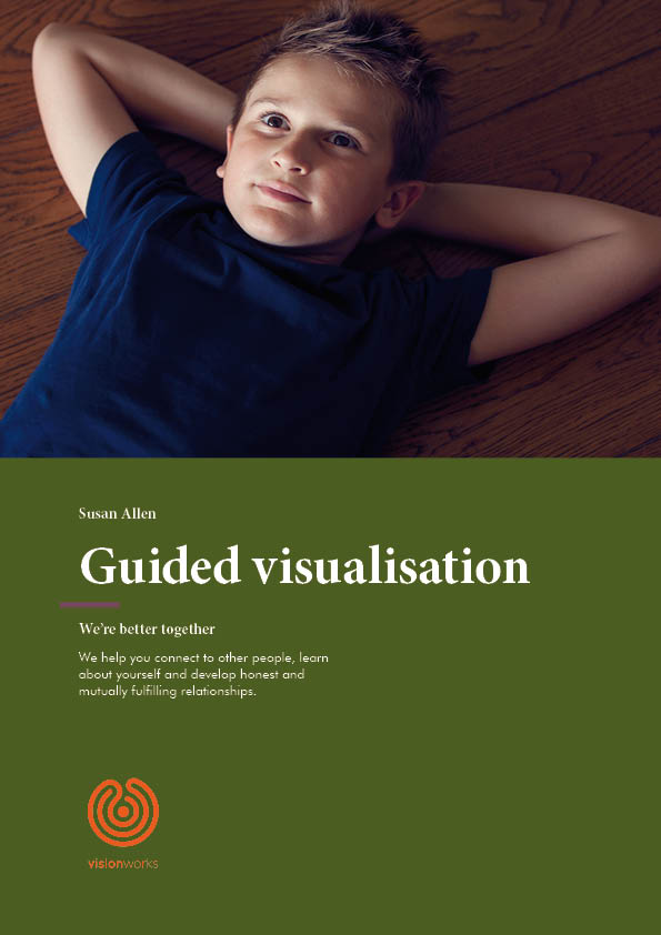 Front cover for free download - Guided visualisation
