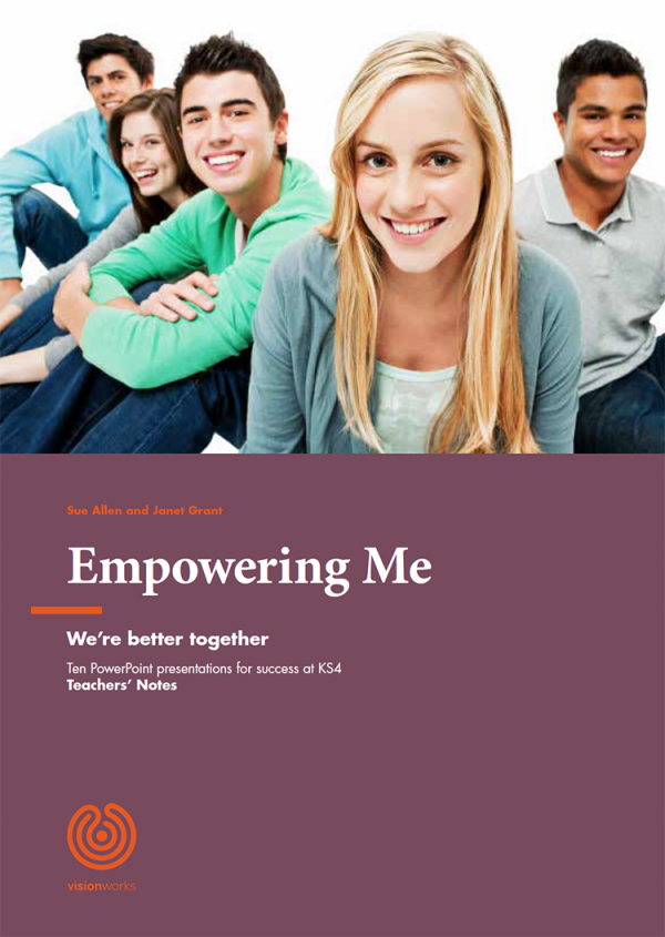 The front page of a traching programme called 'Empowering Me'