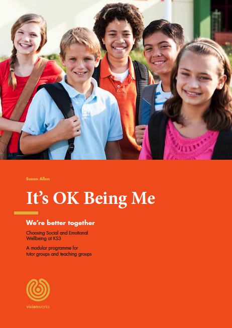 The front page of schools programme It's OK being me